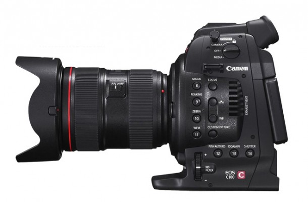 Canon C100 Side 02