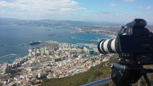 The C100's form factor and weight made it the perfect choice on a recent trip to Gibraltar