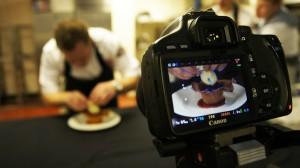 550D food filming